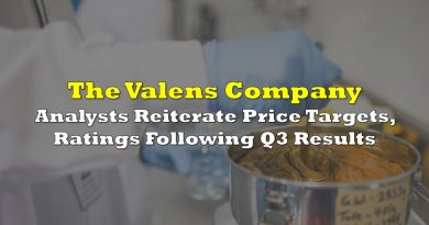 Valens: Analysts Reiterate Price Targets, Ratings Following Q3 Results