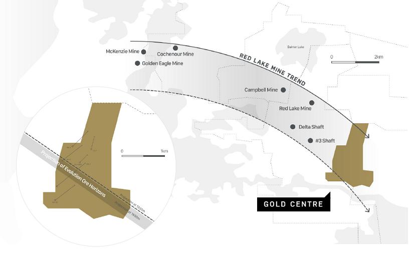 Trillium's Gold Centre property