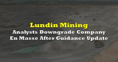 Analysts Downgrade Lundin Mining En Masse After Guidance Update