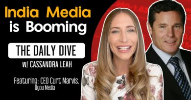India Media Is Booming – The Daily Dive feat Curt Marvis of QYOU Media