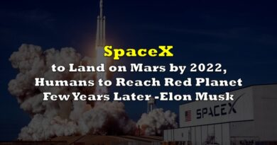 Elon Musk: SpaceX to Land on Mars by 2022, Humans to Reach Red Planet Few Years Later
