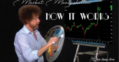 A happy little market manipulation