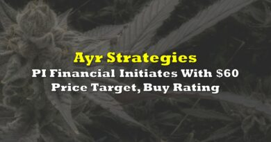 Ayr Strategies: PI Financial Initiates With $60 Price Target, Buy Rating