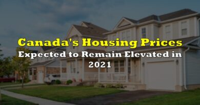 Canada's Housing Prices Expected to Remain Elevated in 2021