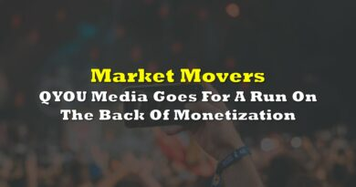 Market Movers: QYOU Media Goes For A Run On The Back Of Monetization