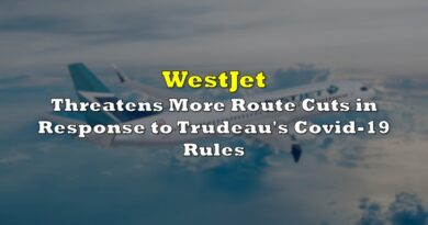 WestJet Threatens More Route Cuts in Response to Trudeau's Covid-19 Rules