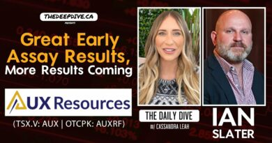 AUX Resources: Great Early Assay Results – The Daily Dive feat Ian Slater