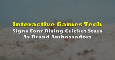 Interactive Games Tech Signs Four Rising Cricket Stars As Brand Ambassadors