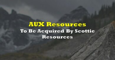 AUX Resources To Be Acquired By Scottie Resources