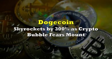 Dogecoin Skyrockets 300% As Crypto Bubble Fears Mount