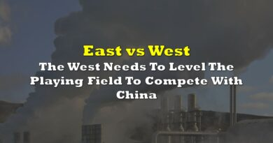 The West Needs To Level The Playing Field To Compete With China
