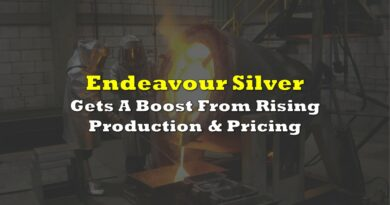 Endeavour Silver Gets A Boost From Rising Production & Pricing