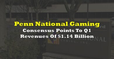PENN: Consensus Points To Q1 Revenues Of $1.14 Billion