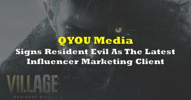 QYOU Media Signs Resident Evil As The Latest Influencer Marketing Client