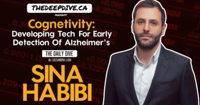 Cognetivity: Developing Tech For Early Detection Of Alzheimer's – The Daily Dive feat Sina Habibi