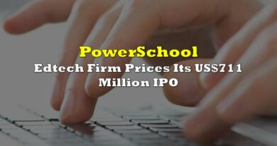 Edtech Firm PowerSchool Prices Its US$711 Million IPO