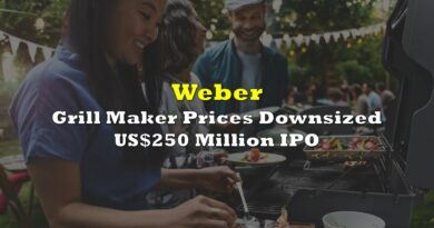 Grill Maker Weber Prices Downsized US$250 Million IPO