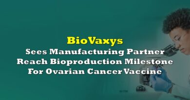 BioVaxys Sees Manufacturing Partner Reach Bioproduction Milestone For Ovarian Cancer Vaccine