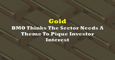 Gold: BMO Thinks The Sector Needs A Theme To Pique Investor Interest