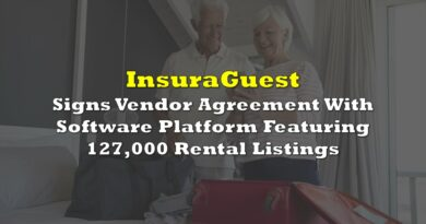 InsuraGuest Signs Vendor Agreement With Software Platform Featuring 127,000 Rental Listings