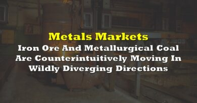 Iron Ore And Metallurgical Coal Are Counterintuitively Moving In Wildly Diverging Directions