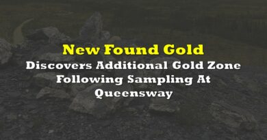 New Found Gold Discovers Additional Gold Zone Following Sampling At Queensway