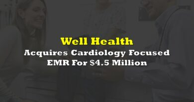 Well Health Acquires Cardiology Focused EMR For $4.5 Million