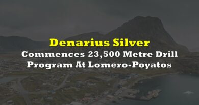 Denarius Silver Commences 23,500 Metre Drill Program At Lomero-Poyatos