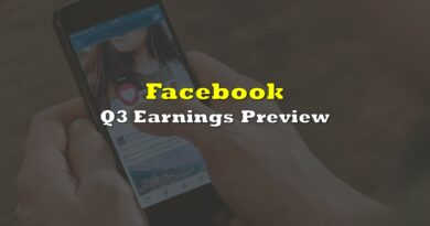 Facebook: Q3 Earnings Preview