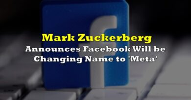 Mark Zuckerberg Announces Facebook Will be Changing Name to 'Meta'