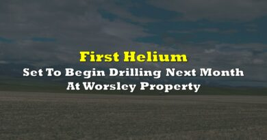 First Helium Set To Begin Drilling Next Month At Worsley Property