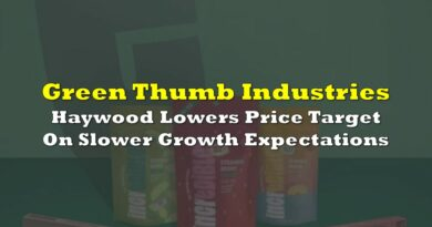 Green Thumb: Haywood Lowers Price Target On Slower Growth Expectations