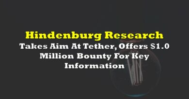 Hindenburg Research Takes Aim At Tether, Offers $1.0 Million Bounty For Key Information