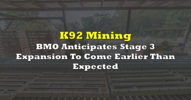 K92: BMO Anticipates Stage 3 Expansion To Come Earlier Than Expected