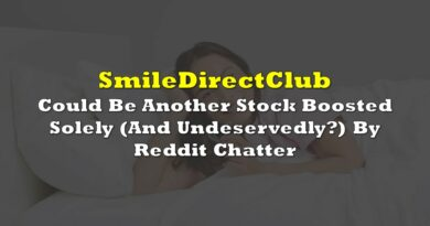 SmileDirectClub Could be Another Stock Boosted Solely (And Undeservedly?) By Reddit Chatter
