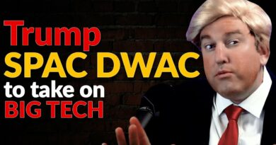 Trump SPAC DWAC To Take on Big Tech